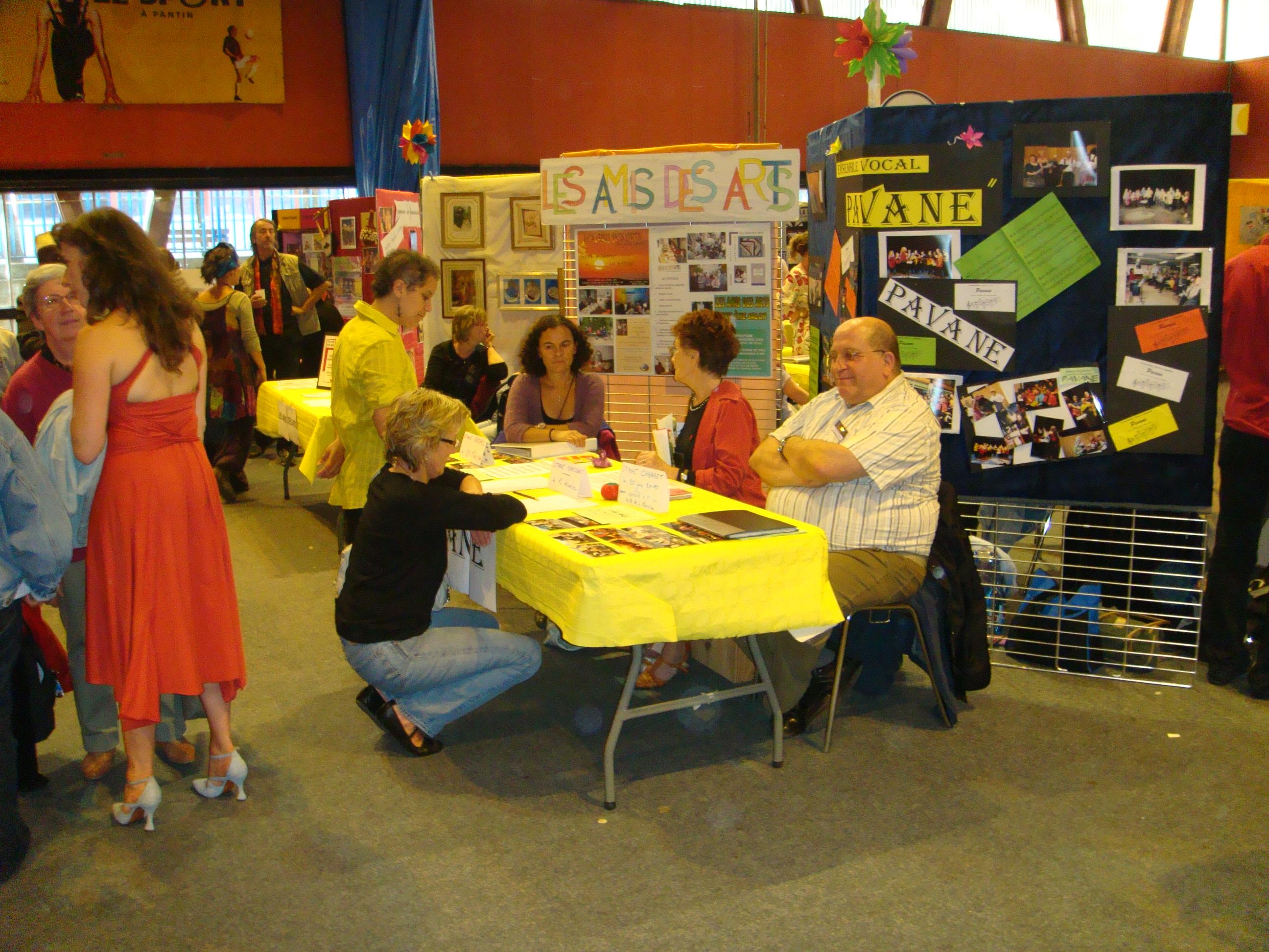 Pavane le salon des associations 2009 - Salon des associations ...